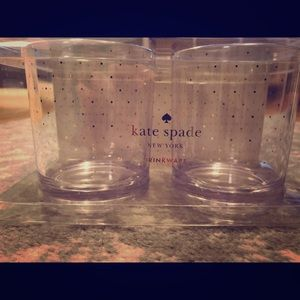 NWT pair of Kate Spade gold dot glasses